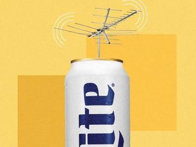 What Do You Get When You Stick an Antenna on a Beer Can? Miller Lite's 'Cantenna'