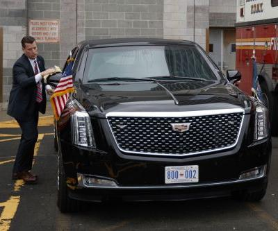 A fridge stocked full of blood and other things you might not know about the president's limo