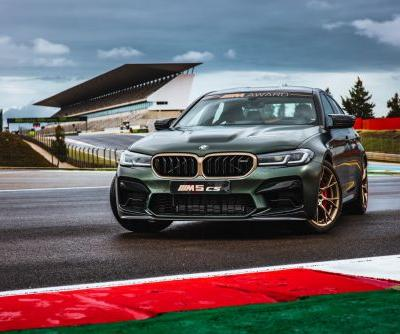 2021 MotoGP BMW M Award Is The BMW M5 CS