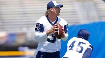 Cowboys Quarterback Depth Takes A Hit With Zac Dysert's Back Injury