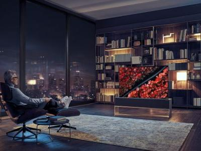 The LG Signature OLED TV R is the world's first rollable TV