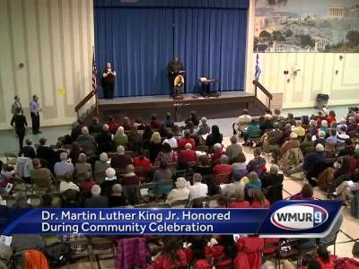 Community gathers in honor of Dr. Martin Luther King Jr. in Manchester