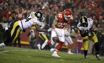 Chiefs' mistakes prove costly in 18-16 loss to Steelers
