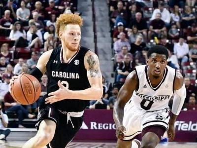 Mississippi State beats South Carolina 72-68 in OT
