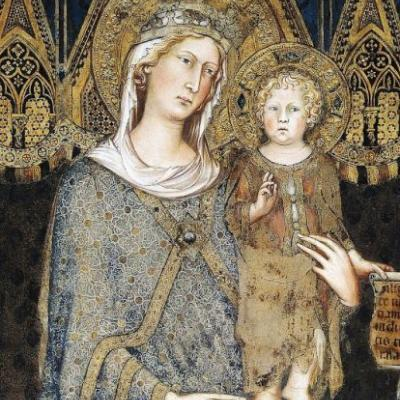Madonnas attributed to Italian artist Simone Martini