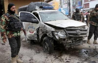 Suicide bomber kills at least 10 people in southwest Pakistan