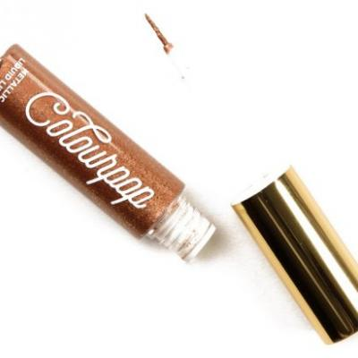 ColourPop Good as Gold Metallic Liquid Liners Reviews & Swatches