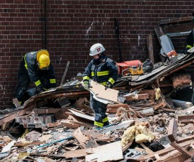 Dramatic video shows Baltimore blast survivor pulled from rubble