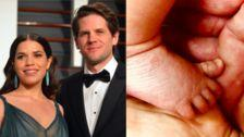 America Ferrera Welcomes Baby Boy With Husband Ryan Piers Williams