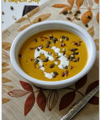 Slow Cooker Pumpkin Bacon Soup Recipe
