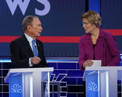 """Elizabeth Warren Going In On Michael Bloomberg Is Even Better With """"Ether"""" In The Background"""