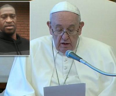 Pope Francis speaks out at Vatican about George Floyd killing
