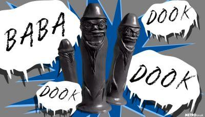 A wonderful person has created the Babadook dildo of your dreams