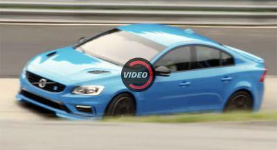 Volvo S60 Polestar Claimed The Four-Door Nurburgring Lap Record Last Year