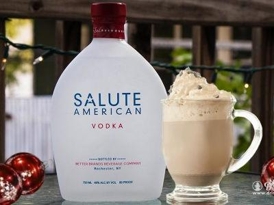 American Hot Chocolate by Salute American Vodka!