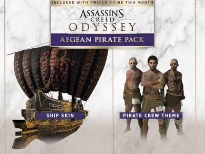 Get the Aegean Pirate Pack with Twitch Prime!