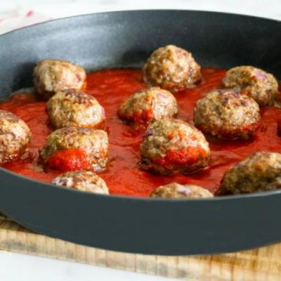 30-Minute Low-Carb Beef Meatballs