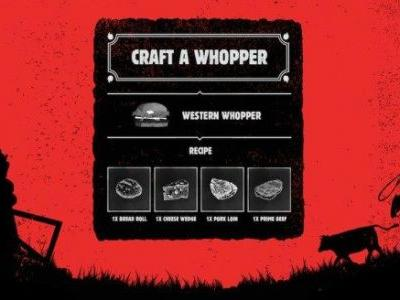 Burger King Is Sending Swedish Players on a Fetch Quest in RDR2