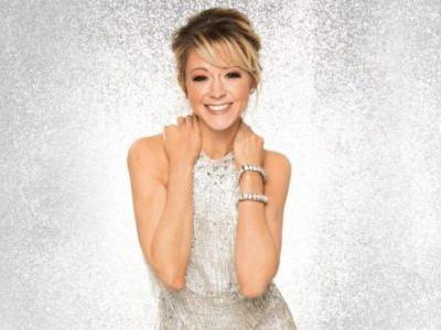 Dancing with the Stars: Lindsey Stirling and Mark Ballas Dance Glittering Cha Cha to 'Don't Worry'