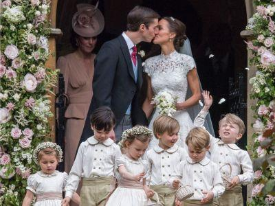 Every Cute Photo From Pippa Middleton's Wedding That You Need To See