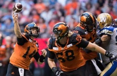 Lions score 20 unanswered for comeback victory over Blue Bombers