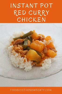 Instant Pot Red Curry Chicken