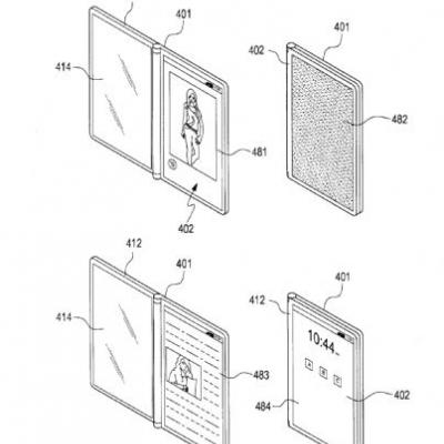 Samsung Exploring Triple-Screen Foldable Phone Designs
