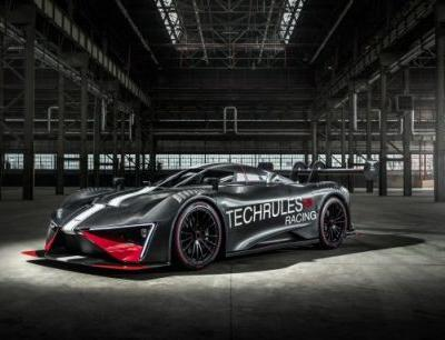 Techrules' Track-Running Ren RS Turbine-Hybrid Supercar Has 1287 HP and One Seat