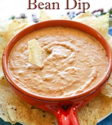 The Best Bean Dip