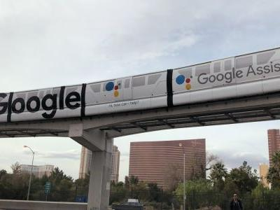 Google sets up camp at CES 2018 with swirly slides, Assistant monorail takeover, gumball machine