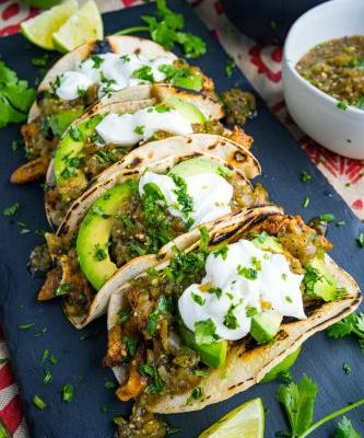 Chicken and Avocado Tacos