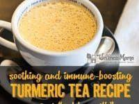 5 Minute Turmeric Tea Recipe