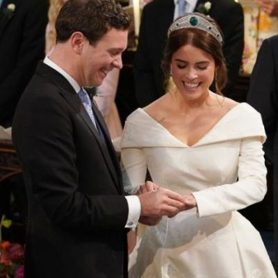 Princess Eugenie & Jack Brooksbank's Body Language At Their Wedding Says Great Things About Their Love