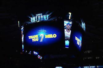 Carmelo Anthony Tribute video and reception in NY