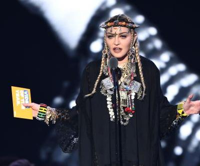 Madonna Pays Tribute To Aretha Franklin At The 2018 VMAs
