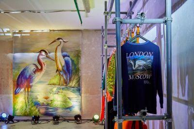 A Look Inside Heron Preston's Pop-Up Shop at Moscow's KM20