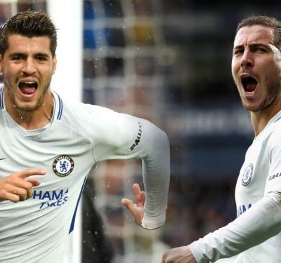 Welcome to A&E! Morata and Hazard will scare defenders to death this season