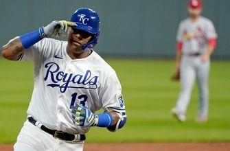 WATCH: Salvy hits two home runs, drives in five against Cardinals