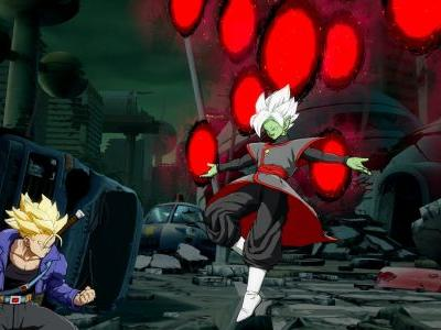 Zamasu Lights Up The Sky In First Dragon Ball FighterZ DLC Footage