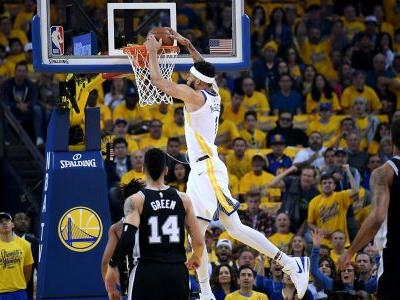 Three big reasons why Warriors dominated Spurs in Game 1 win