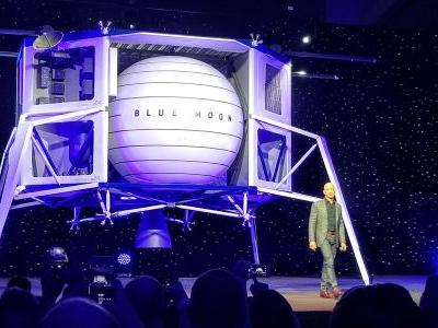 Blue Origin Unveils 'Blue Moon,' Its Big Lunar Lander