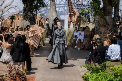 Dior's Haute Couture Collection Goes on a Global Safari for Fall 2017