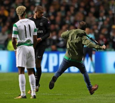 UEFA charges Celtic for fan incident during PSG game