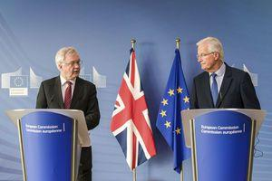 The Latest: EU negotiator: Brexit progress may take months