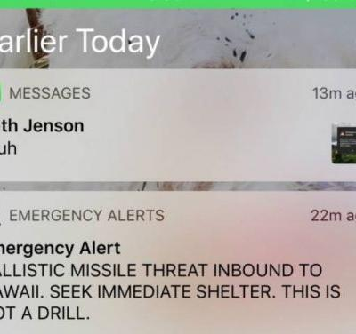 Hawaii governor couldn't correct false missile alert because he didn't know his Twitter password