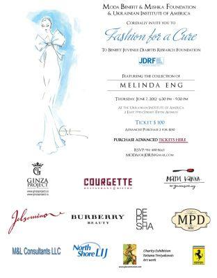 Fashion for a Cure Benefit