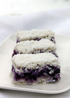 Refreshing Blueberry And Coconut Rice bars