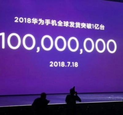 Huawei Has Already Sold 100 Million Smartphones So Far