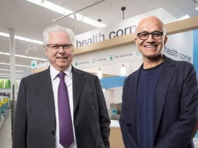 Microsoft moves further into healthcare with new partnership with Walgreens