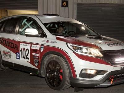 A Diesel Honda CR-V Race Car Has Been Created, And It's For A Great Cause